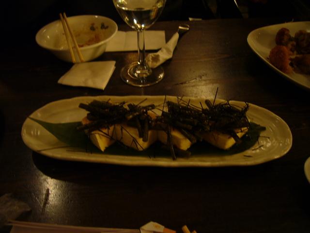 Cold Tofu at Kitanoya Guu