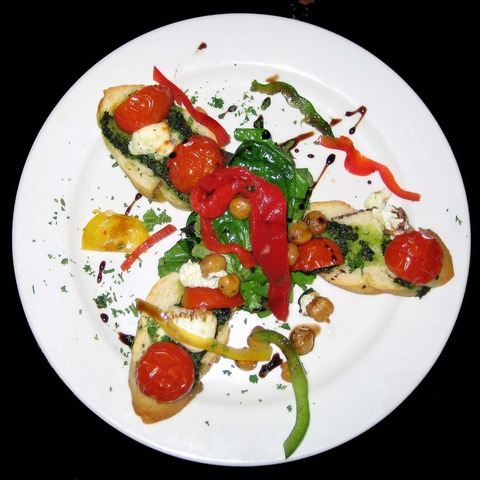 Bruschetta Barcelona at Ole Tapas Bar