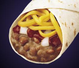 Bean Burrito at Del Taco
