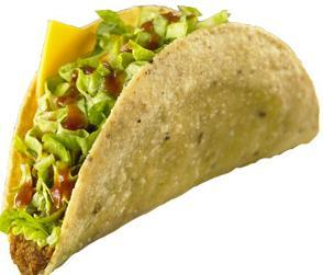 Regular Beef Taco at Jack in the Box