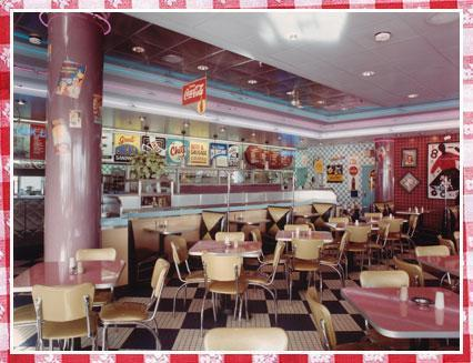 Interior at Portillo's