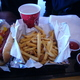Hot Dog and French Fries at Crystal Mountain