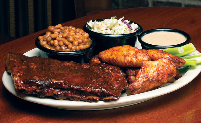 Ribs & Wings at Sticky Fingers Smokehouse