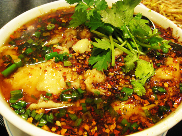 Photo of Boiled Fish with Hot Sauce