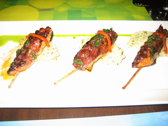 Photo of anticuchos de pulpo