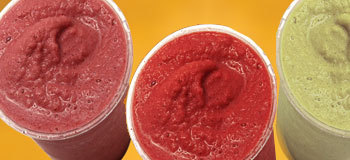Fruit Smoothies at Honey Dew Donuts