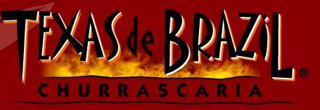 Logo at Texas de Brazil Churrascaria