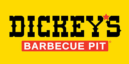 Logo at Dickey's Barbecue Pit