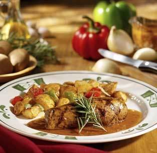 Pork Filettino at Olive Garden