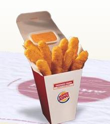 BK™ Chicken Fries at Burger King