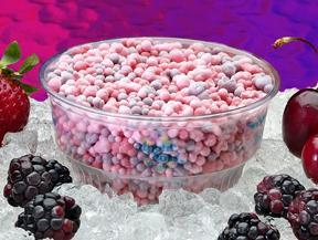 Cherry Berry Ice at Dippin' Dots