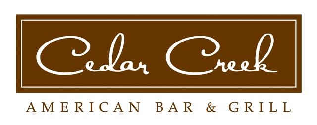 Cedar Creek Restaurant Week Menu
