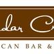 Logo at Cedar Creek