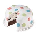 Polka Dot Cake at Dunkin' Donuts/Baskin Robbins