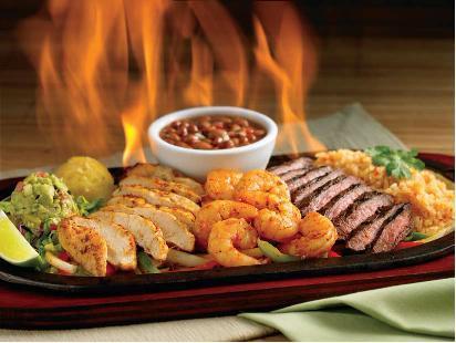 JOSE CUERVO® FLAMING FAJITAS SUPREMAS at El Torito Mexican Restaurants