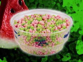 Watermelon Ice at Dippin' Dots