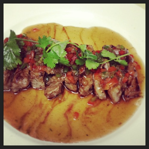 Steak pepper sauce at Five Star Thai Cuisine