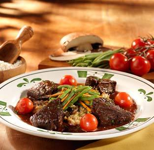 Chianti Braised Short Ribs at Olive Garden