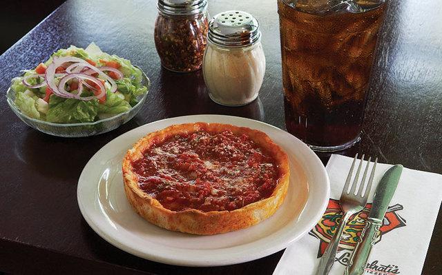 Dish at Lou Malnati's Pizzeria