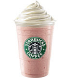 Strawberries & Creme Frappuccino® Blended Creme at Tully's Coffee