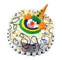 Clown Face Cake at Dunkin' Donuts/Baskin Robbins