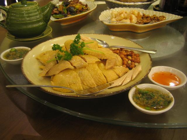 Special Hainan Chicken at Hong Kong Saigon Seafood Harbor Restaurant