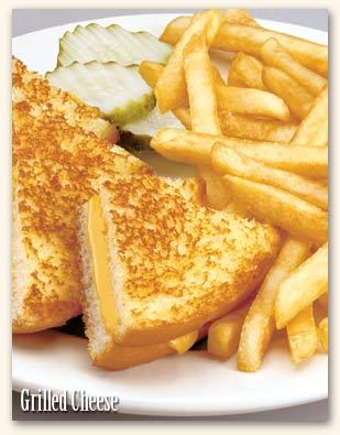 Grilled Cheese at Friendly's