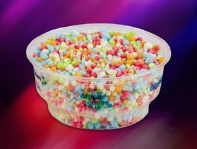Rainbow Ice at Dippin' Dots
