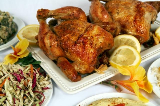 Rotisserie Chicken at Chicken Maison