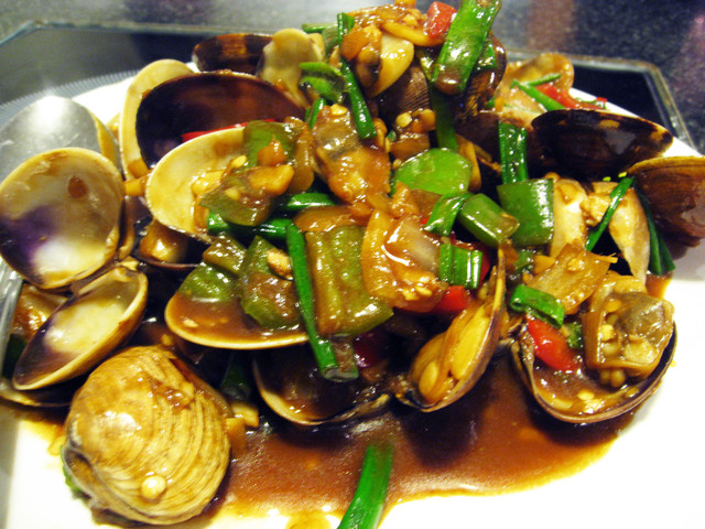 Photo of Clams with Black Bean Hot Sauce