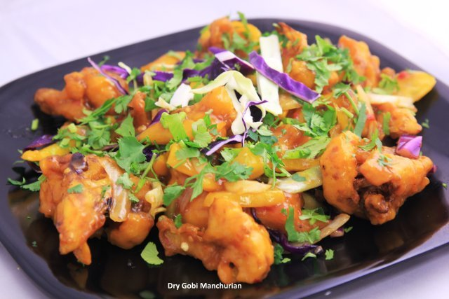 Dry Gobi Manchurian at Standard Sweets and Snacks