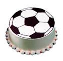 Soccer Ball Cake at Dunkin' Donuts/Baskin Robbins