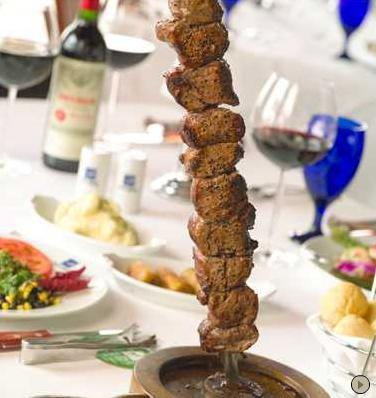 Dish at Texas de Brazil Churrascaria