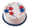 4th of July Cake at Dunkin' Donuts/Baskin Robbins