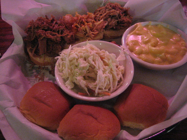 Slow Smoked Combo at Merle's Barbecue & Southern Kitchen