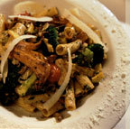Sauteed with wild mushrooms, cherry tomatoes, zucchini, eggplant, peppers, broccoli, escarole, garli - Pasta Verdure at Francesca's Tavola