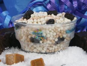 Caramel Brownie Sundae at Dippin' Dots