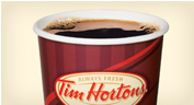 Coffee at Tim Hortons