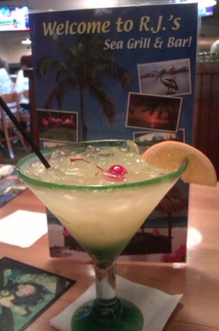 SWAMP JUICE.....YUM! - DRINKS at RJ Gators