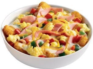 Denver Breakfast Bowl at Jack in the Box
