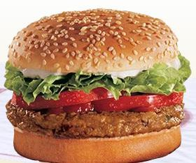 BK VEGGIE® Burger at Burger King