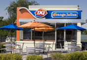 Exterior at Dairy Queen