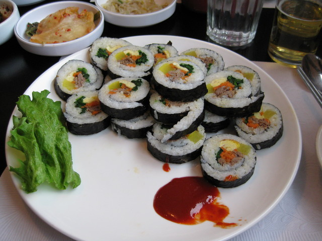 Kimbap at Hoban