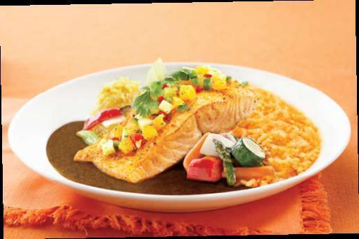 Pepe's Sauteed Fresh Salmon at El Torito Mexican Restaurants