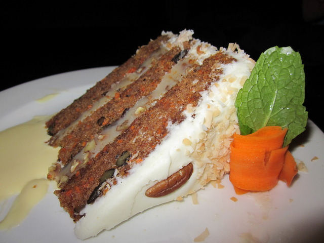 Carrot Cake at Devon Seafood + Steak