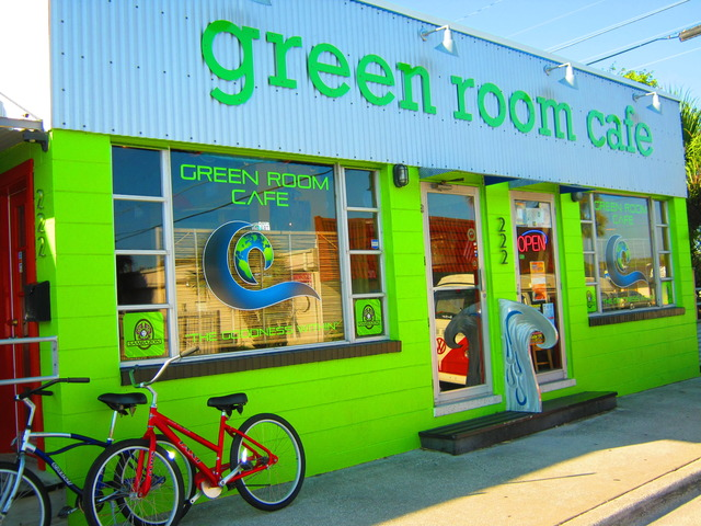 Green Room Cafe Cocoa Beach Menu