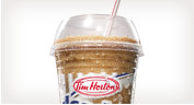 Iced Cappuccino at Tim Hortons