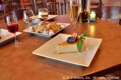 Ricotta Cheescake at Mulberry's Restaurant