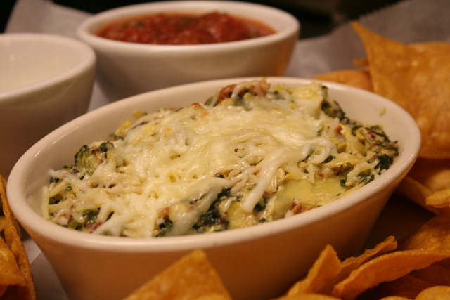 Spinach, Artichoke and Cheese Dip at Fender's Roadhouse of Joplin