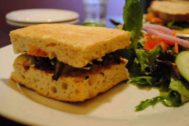 Focaccia Rosti Sandwich at Cafe Nola
